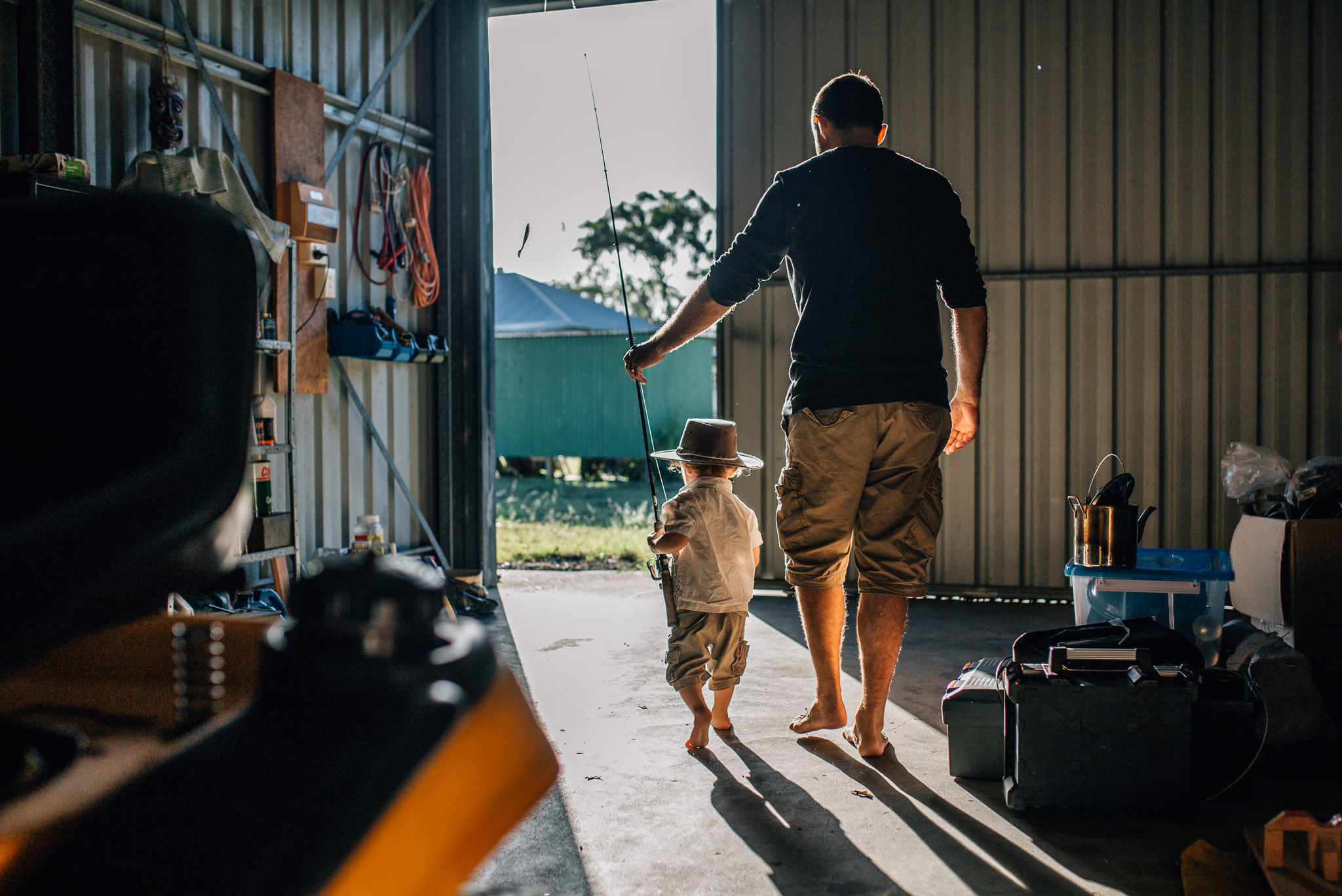 father and son in shed (1 of 1).jpg