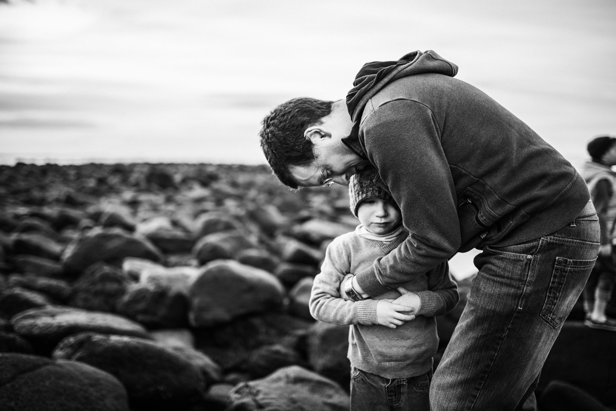 father and son on rocks III (1 of 1).jpg