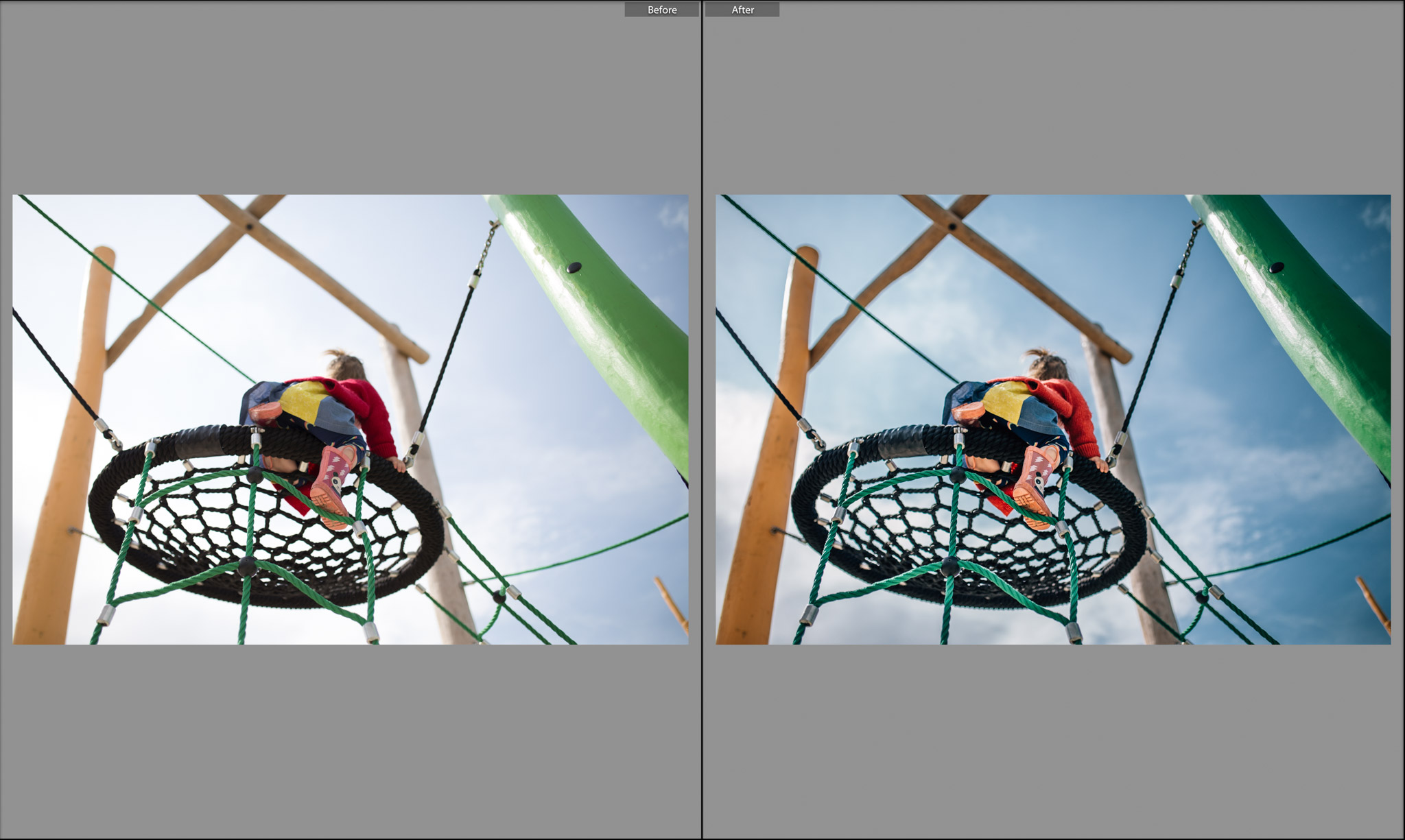 before and after girl on climbing play equipment.jpg