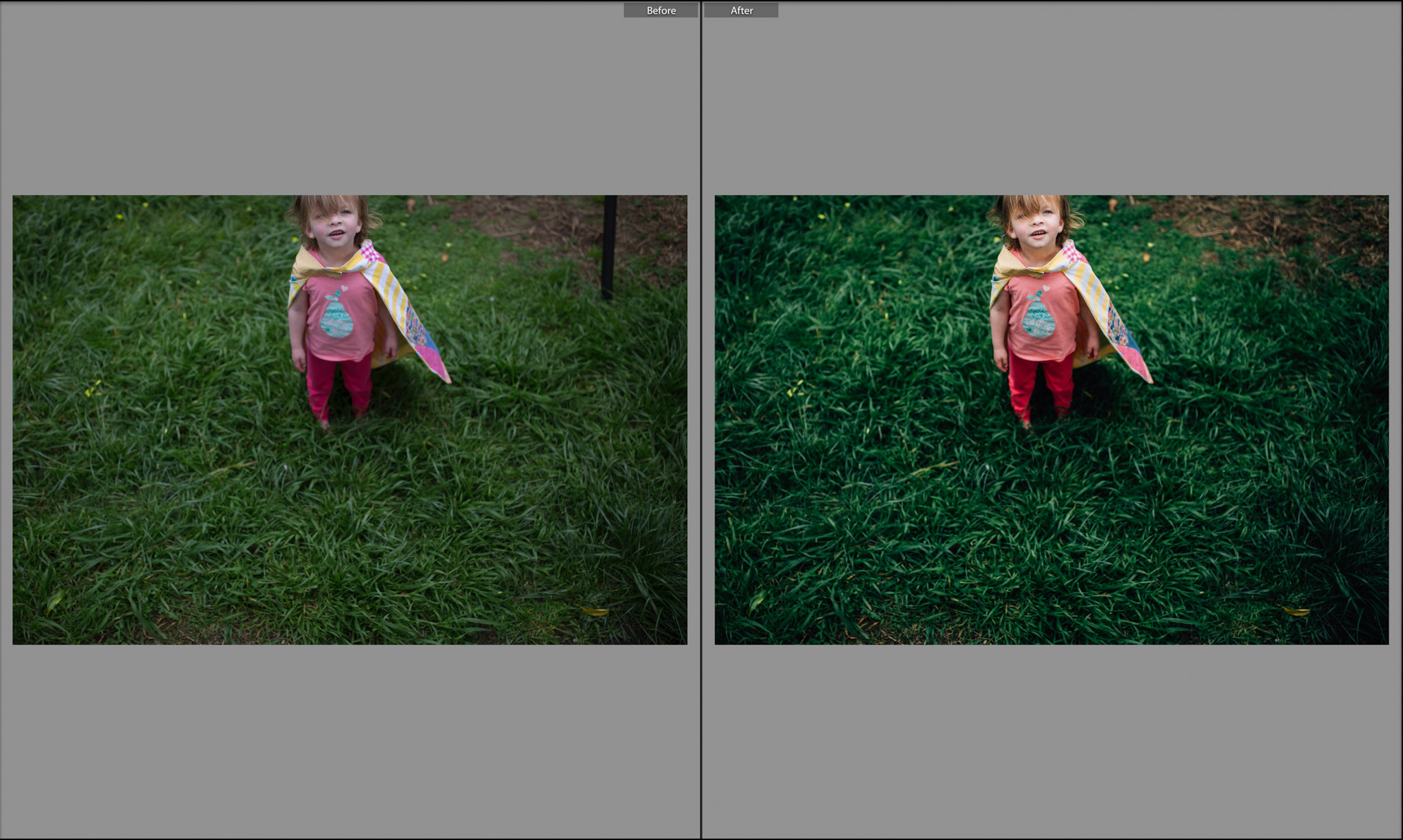 before and after little girl in cape.jpg