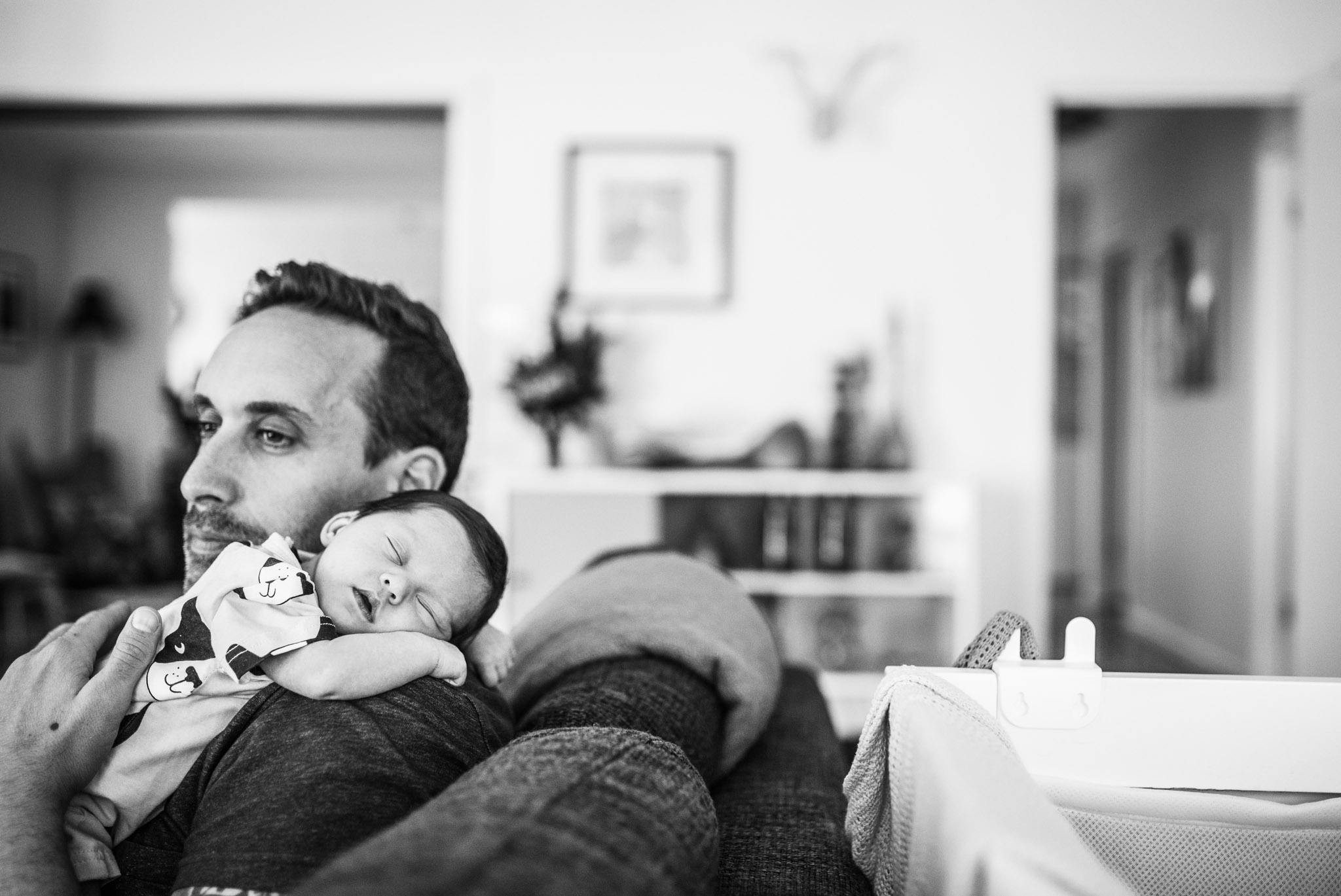 baby sound asleep on father's shoulder (1 of 1).jpg