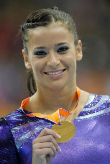 Alicia Sacramone - Member of the 2017 International Gymnastics Hall of FameMember of the 2016 USA Gymnastics Hall of Fame class2011 World Championships, Tokyo, Japan - 1st-Team2010 World Championships, Rotterdam, Netherlands - 1st-VT; 2nd-Team; 5th-BB2008 Olympic Games, Beijing, China - 2nd-Team; 4th-VT2007 World Championships, Stuttgart, Germany - 1st-Team; 2nd-FX; 3rd-VT2006 World Championships, Aarhus, Denmark - 2nd-Team, VT2005 World Championships, Melbourne, Australia - 1st-FX; 3rd-VT2005 Pan American Championships, Rio de Janeiro, Brazil - 1st-Team, VT, FX; 5th-AA2005 American Cup, Long Island, N.Y. - 1st-VT; 2nd-FX2004 Pan American Individual Event Championships, Maracaibo, Venezuela - 1st-VT, FX