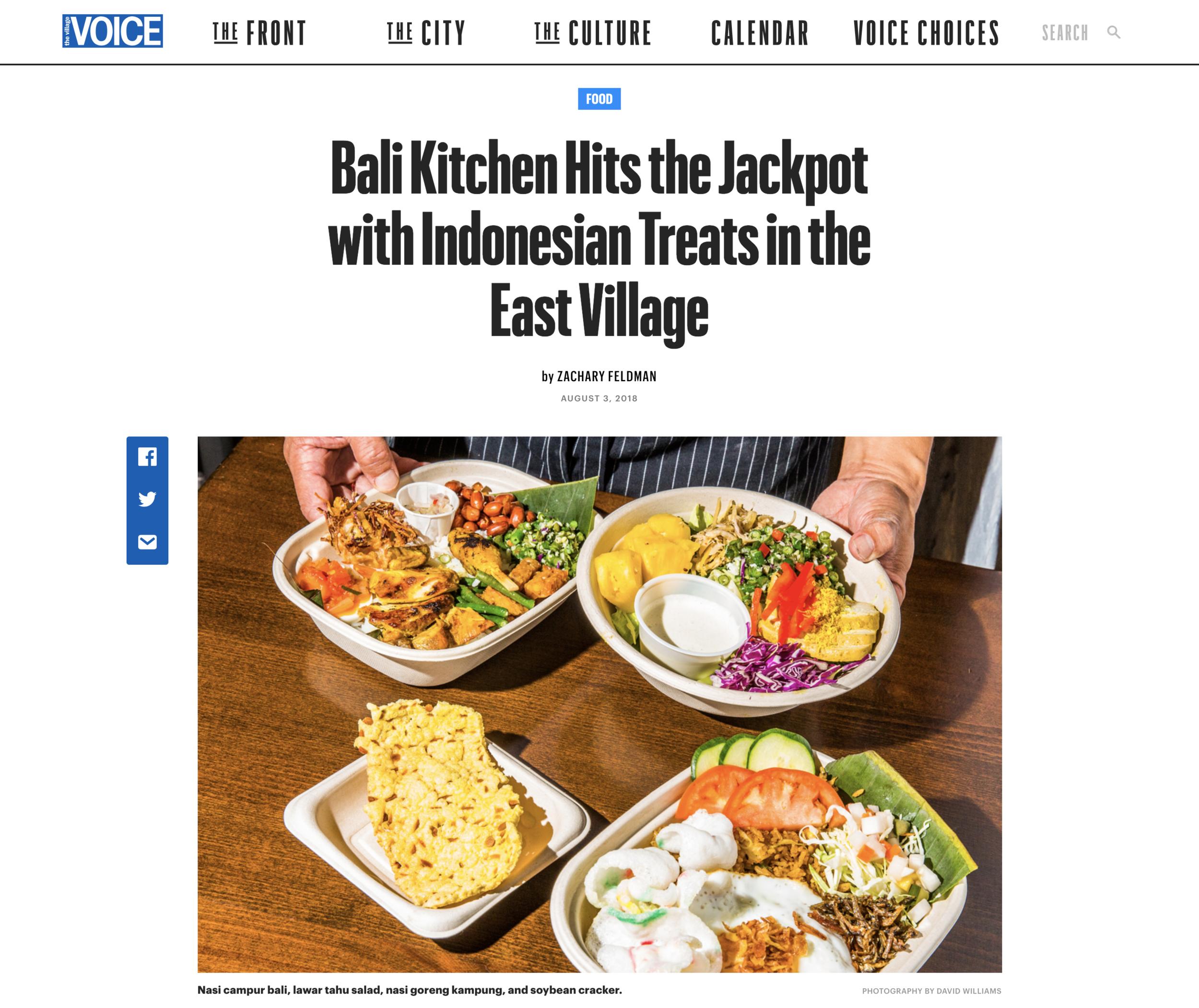 Village Voice -
