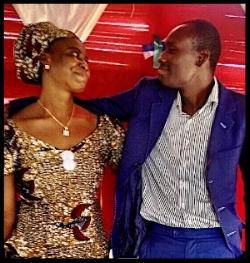 Constantin & Mama Miracle Djomina Project Directors