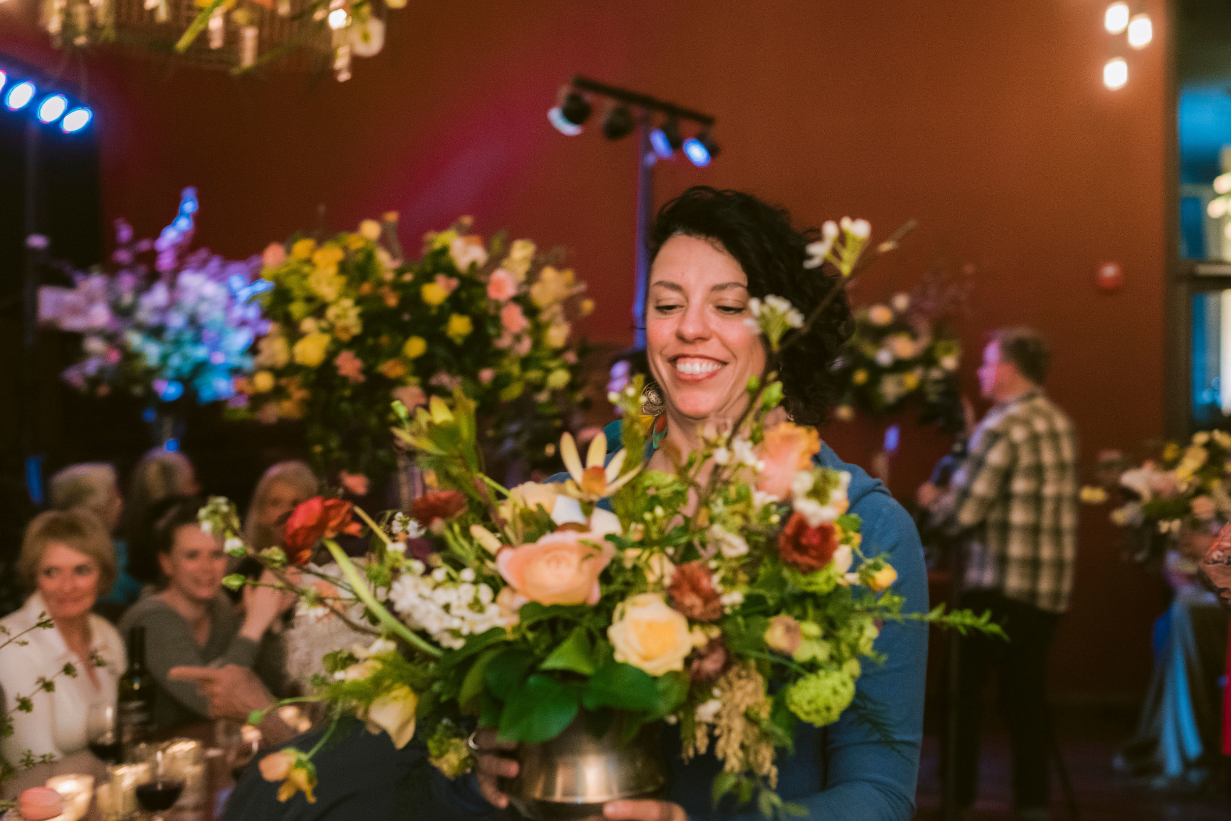 Photo Credit: Suzanne Rothmeyer Photography  Event: Tobey Nelson Events- Whidbey Flower Workshop - Sustainable Floristry