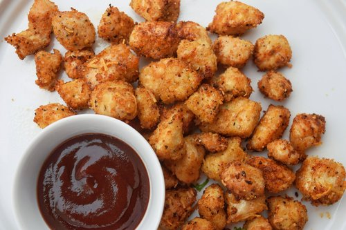 Crispy Air Fryer Chicken Nuggets