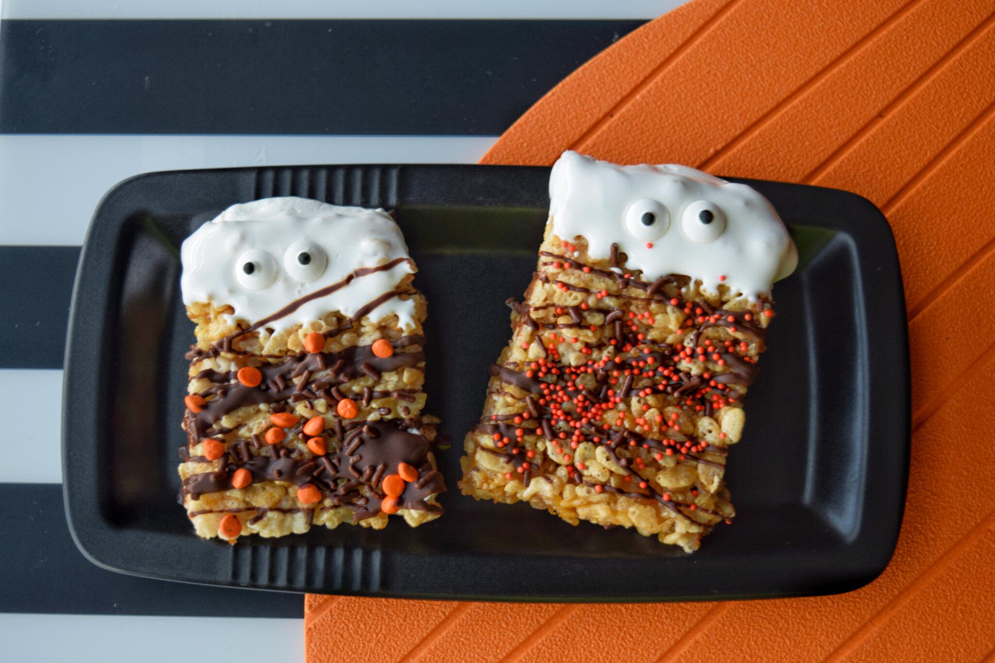 Pumpkin Spice Boo Bars