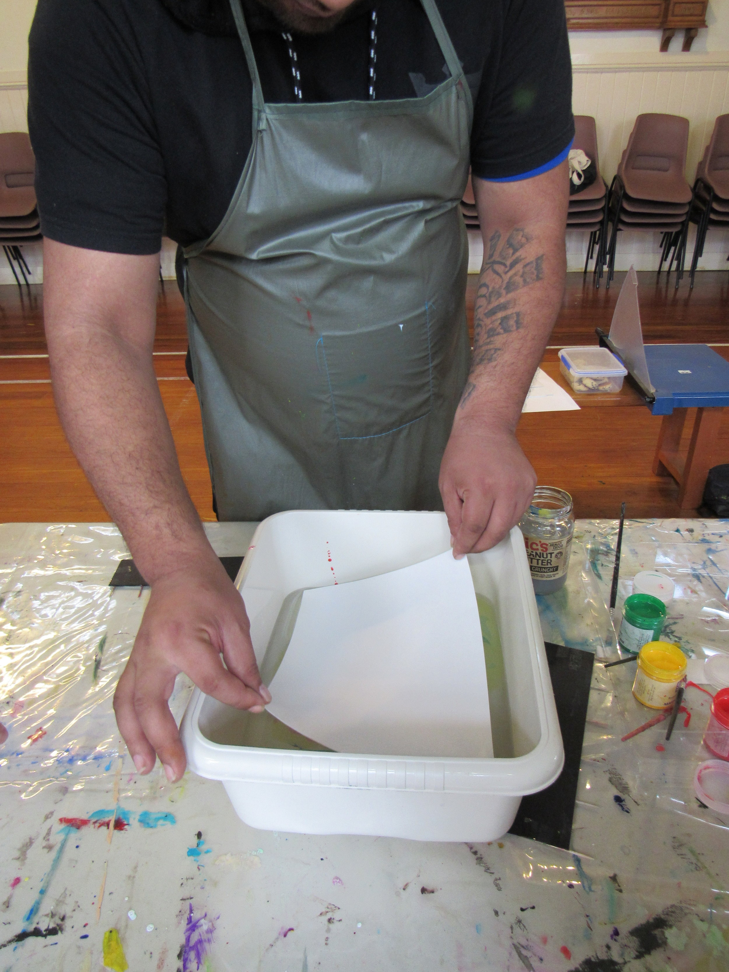 Marbling Workshop