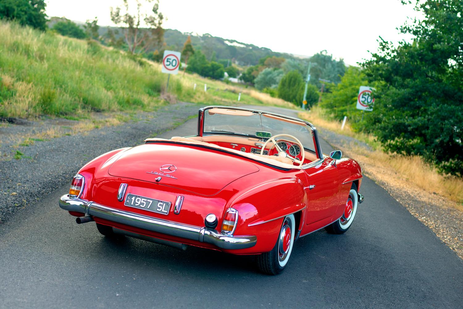 Mercedes 190 SL Auto Session
