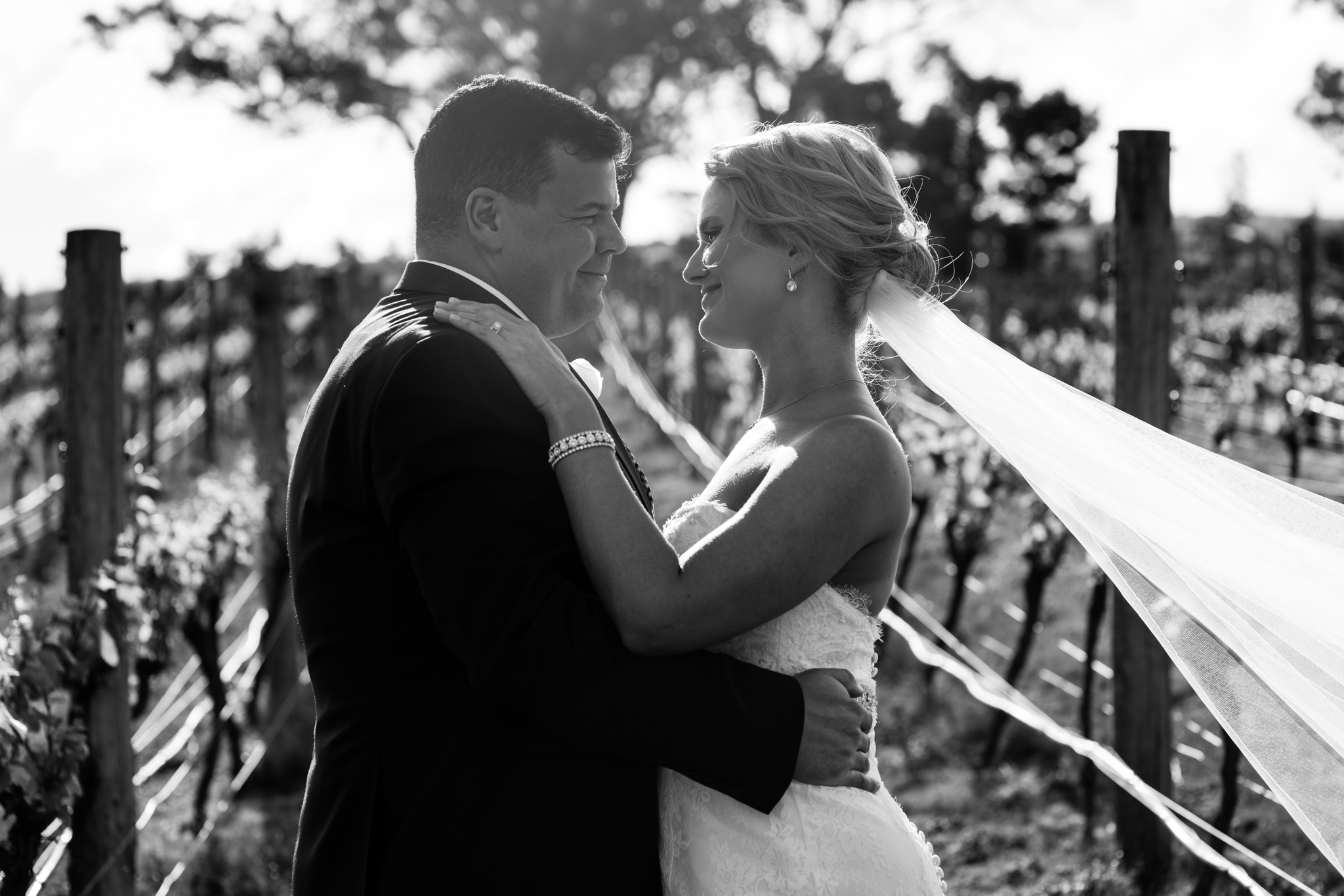 Alana & David - Lancemore Hill at Macedon Ranges