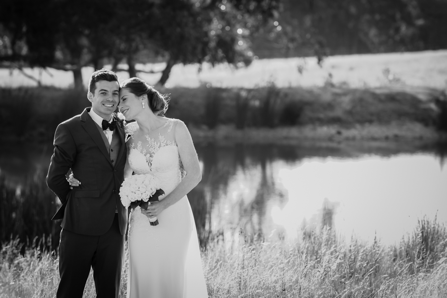 Mel & Anthony - Mount Macedon Winery