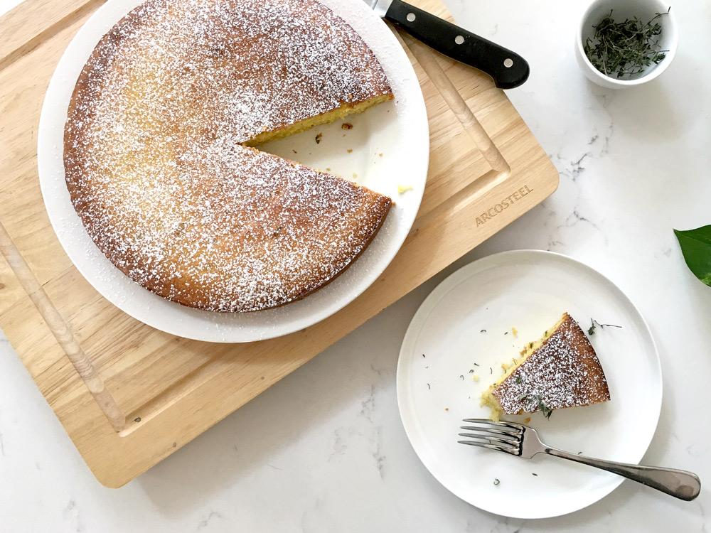 Olive Oil, Lemon, Almond and Yoghurt Cake
