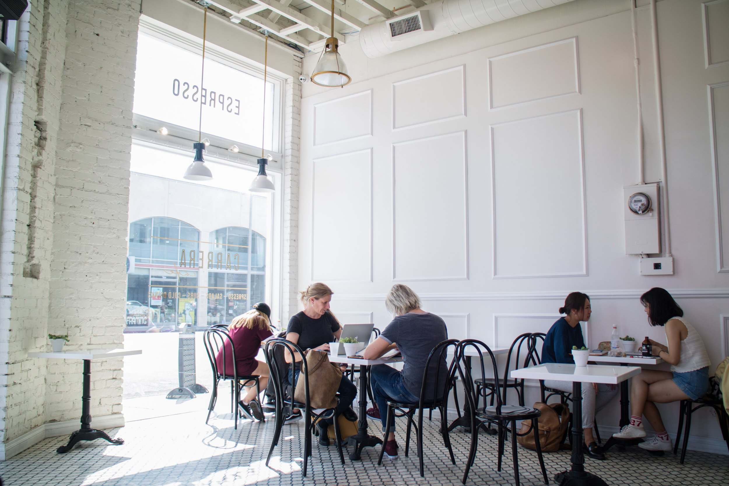 Carrera Cafe - People Watching