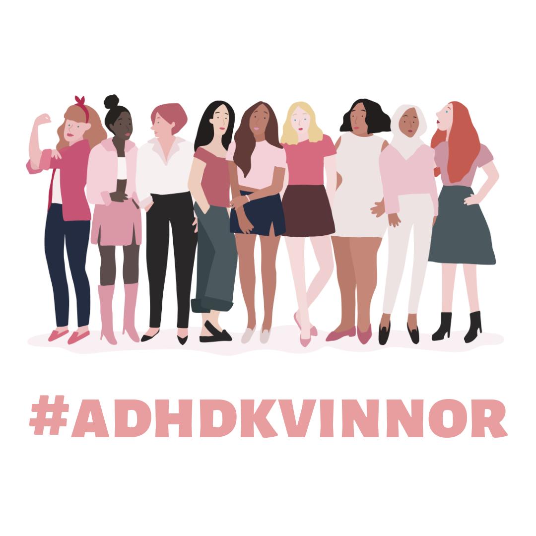 Kvinnor och flickor med ADHD