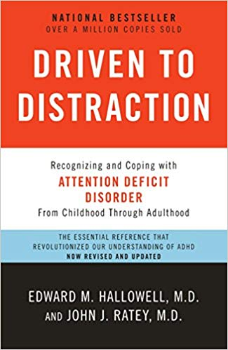 Böcker om ADHD - Driven to distraction