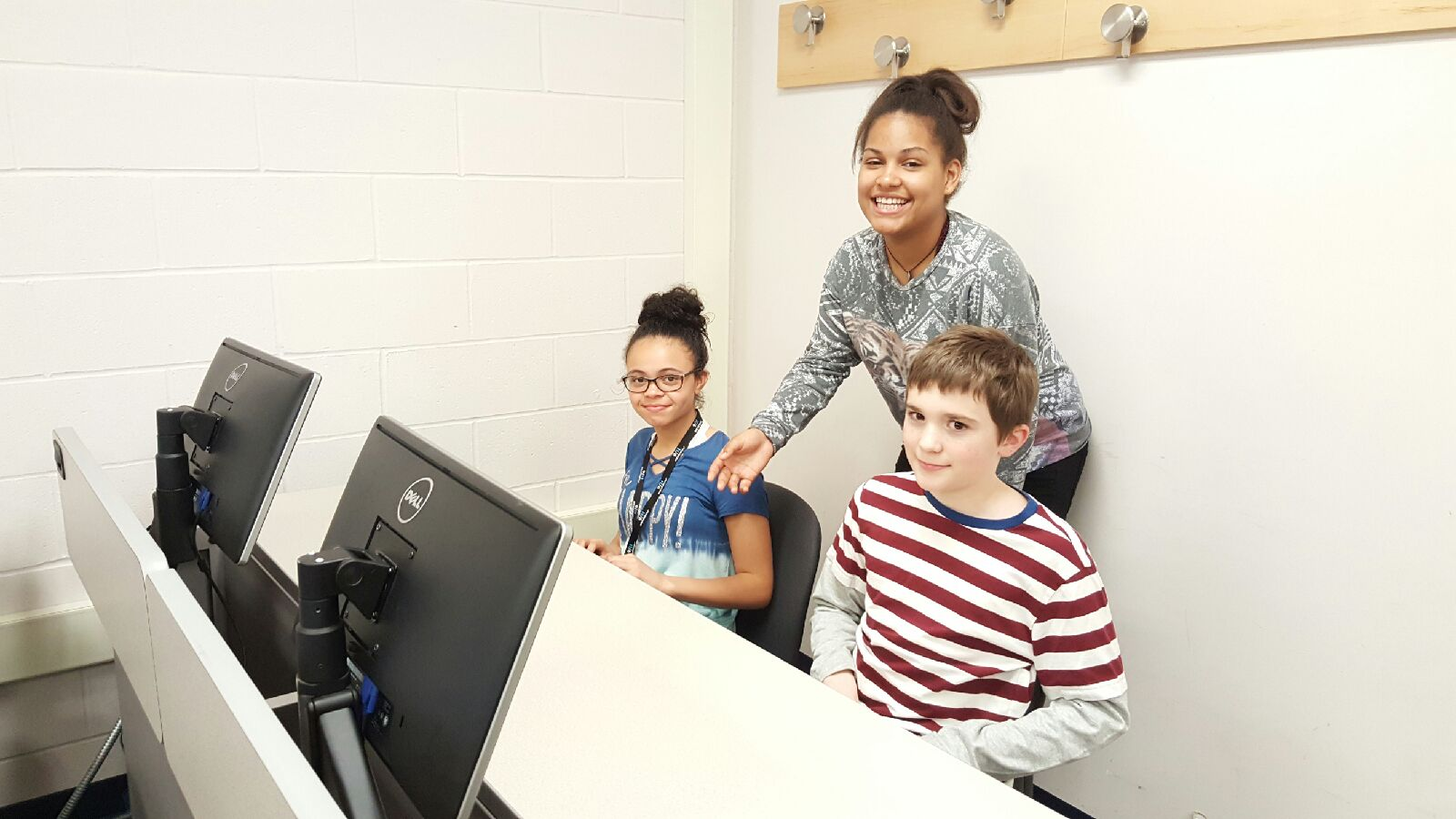 Copy of Instructor helping students