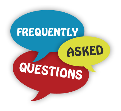 Frequently Asked Questions speech bubble