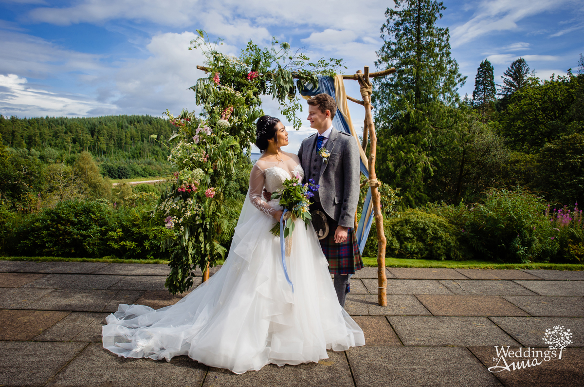Stonefield castle wedding