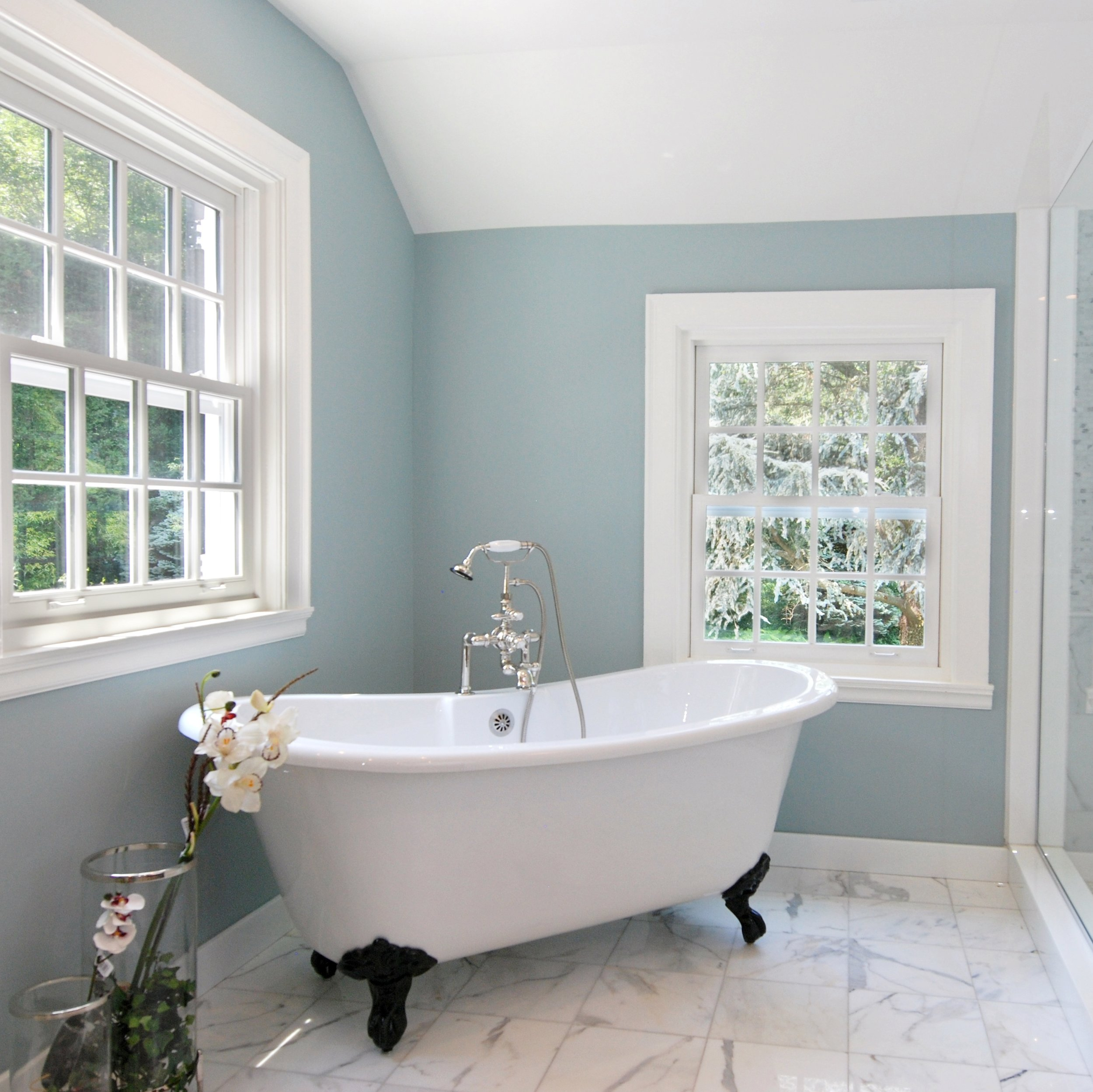 Yarmouth Blue by Benjamin Moore  Source - Unknown