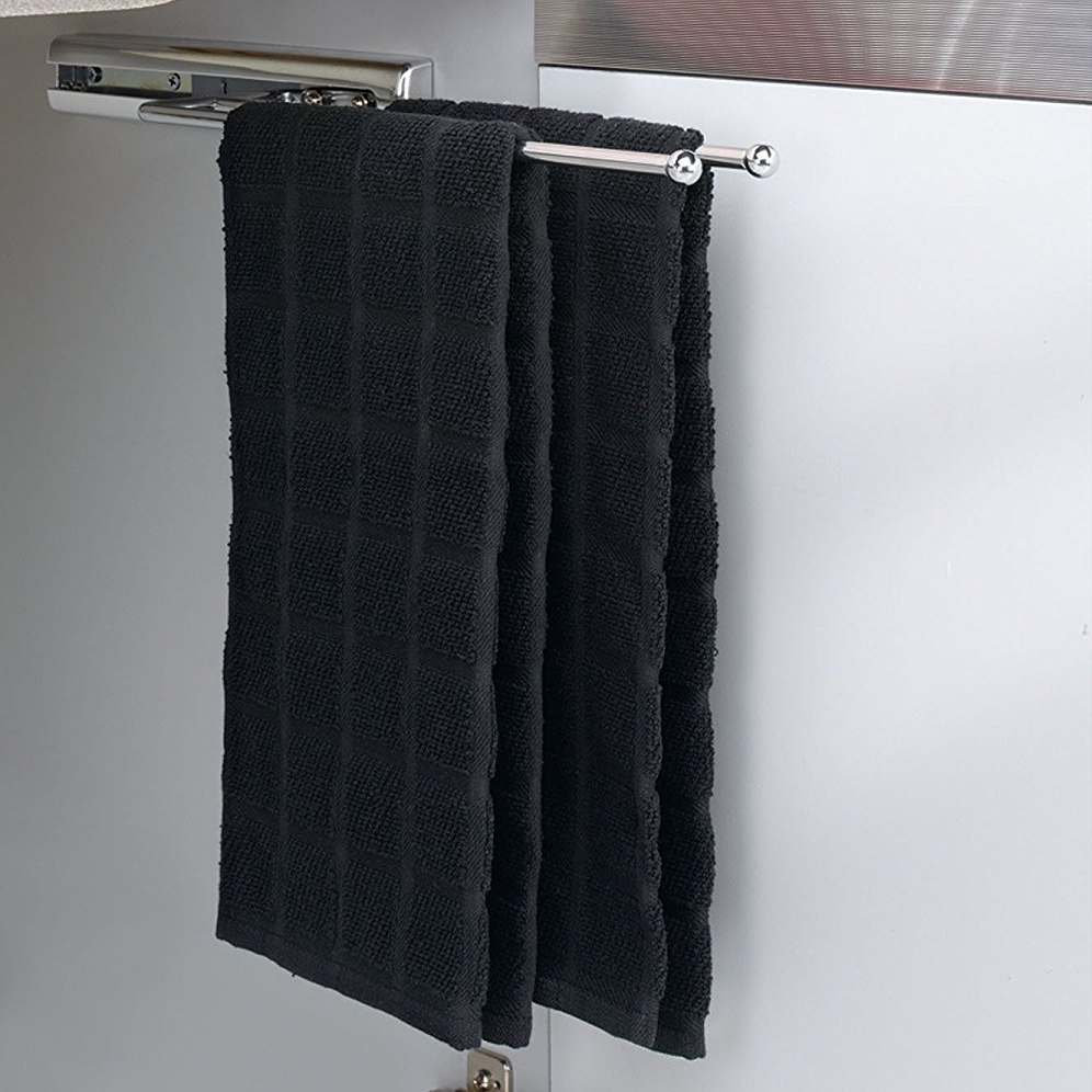 Rev-A-Shelf Pullout Towel Holder Chrome - Purchase Here