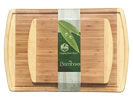 Legacy Bamboo Cutting Board Set of 2