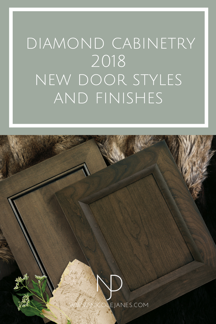 Diamond Cabinetry 2018 Doors and Finishes