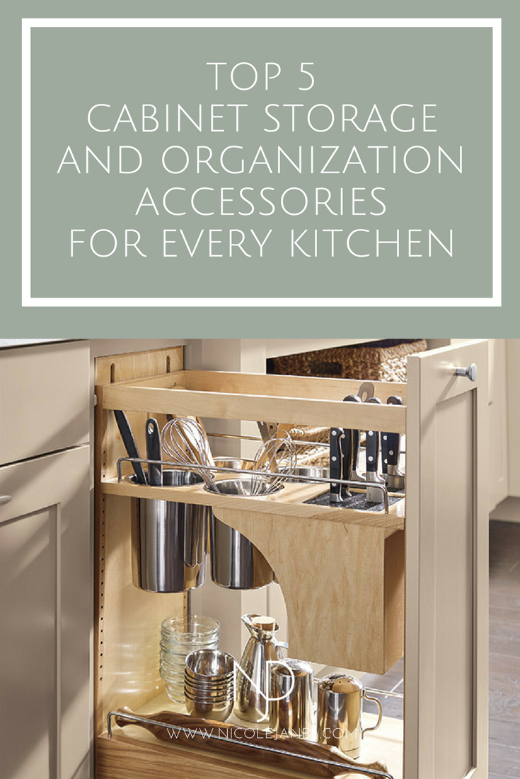 Top 5 Cabinet Storage and Organization Accessories Every Kitchen Should Include Diamond Logix