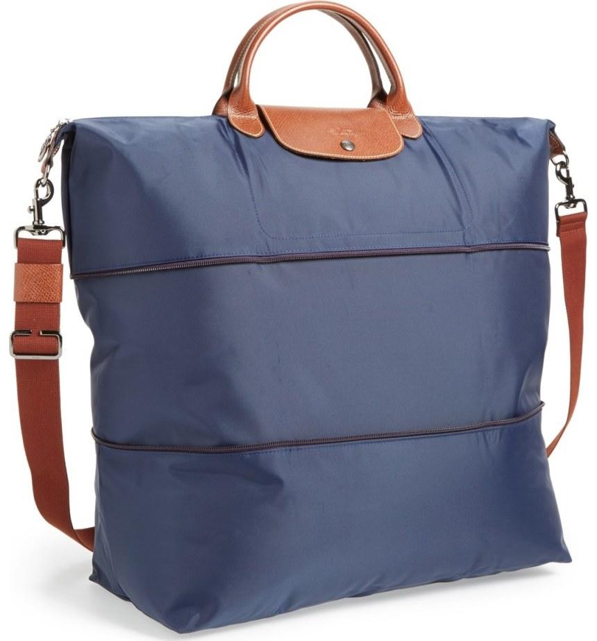 """Longchamp Le Pliage 21"""" Expandable Travel Bag"""