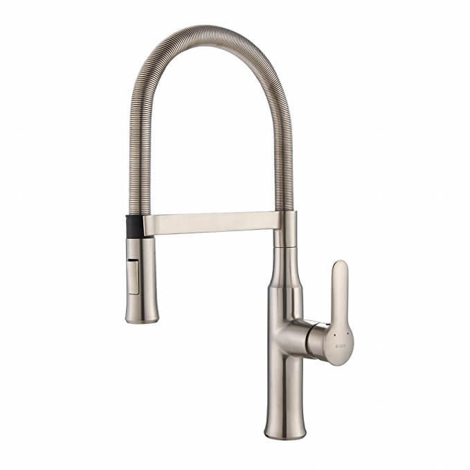 Kraus KPF-1640SS Nola Single Lever Flex Kitchen Faucet