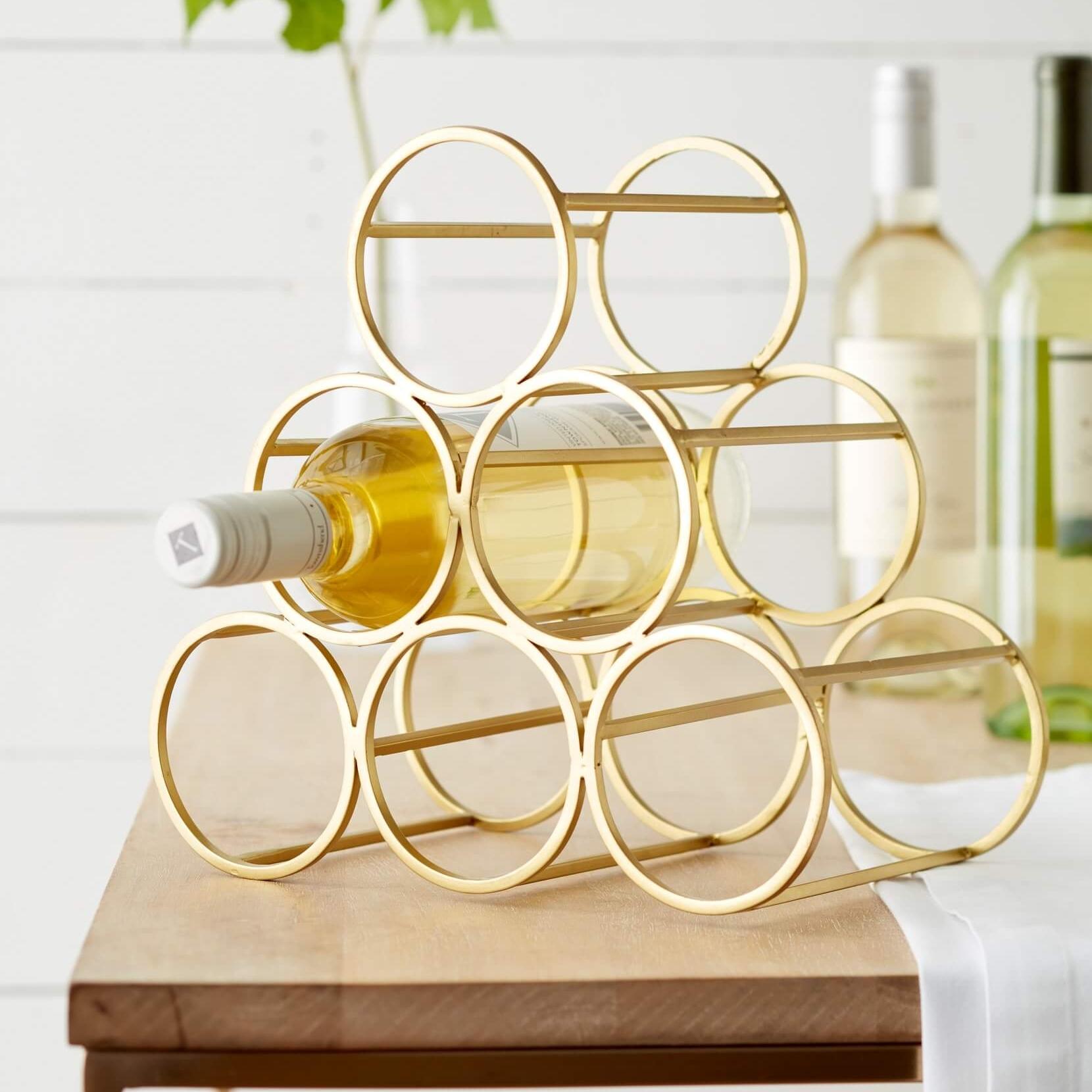 Nordstrom at Home Goldtone Wine Rack Nordstrom Anniversary Sale