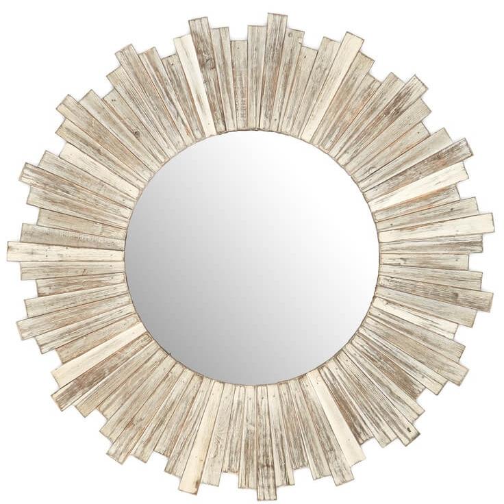 E2 CONCEPTS Round Wooden White Mirror Rustic Round Weathered White Wash Nordstrom Anniversary Sale.jpg