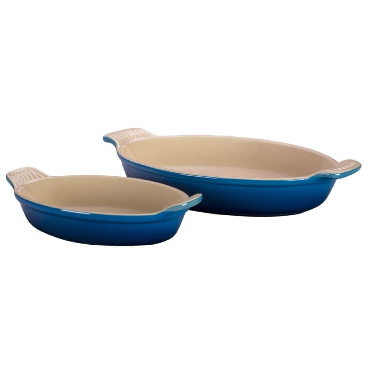 Marseille Le Creuset Heritage Set of 3 Oval Au Gratin Dishes (1).jpg
