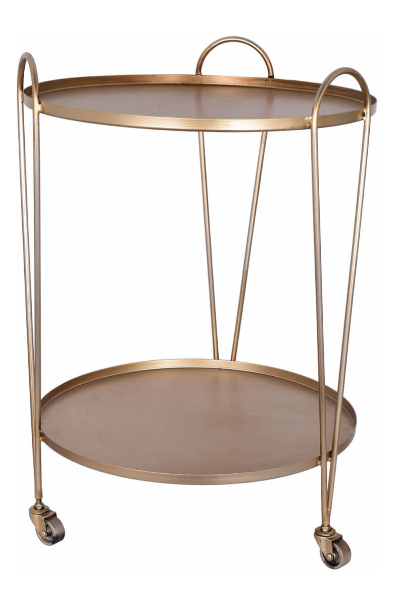 E2 Concepts Metal Serving Cart
