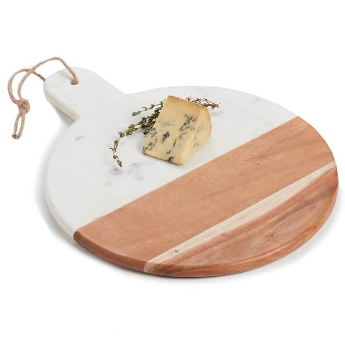 Round Marble & Acacia Wood Serving Board Nordstrom Anniversary Sale.jpg