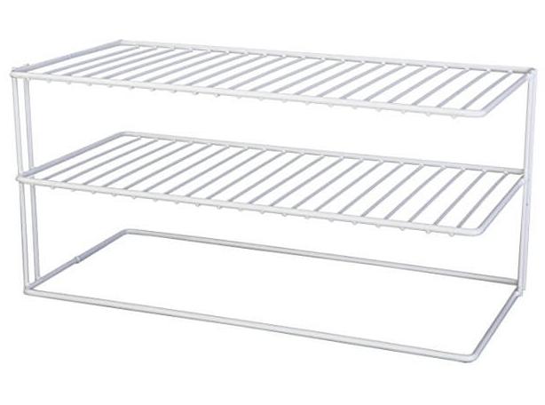 Grayline Panacea 40126 Large Two Shelf Organizer White.jpg