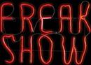 """17"""" Halloween Neon Light Glow Freak Show"""