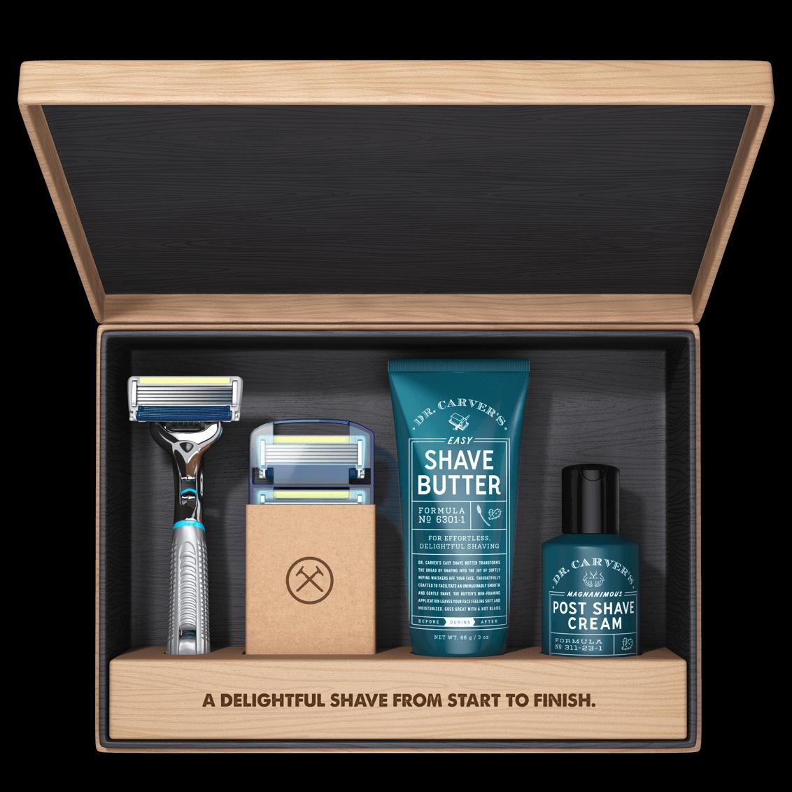 Dollar Shave Club Gift Set & Membership