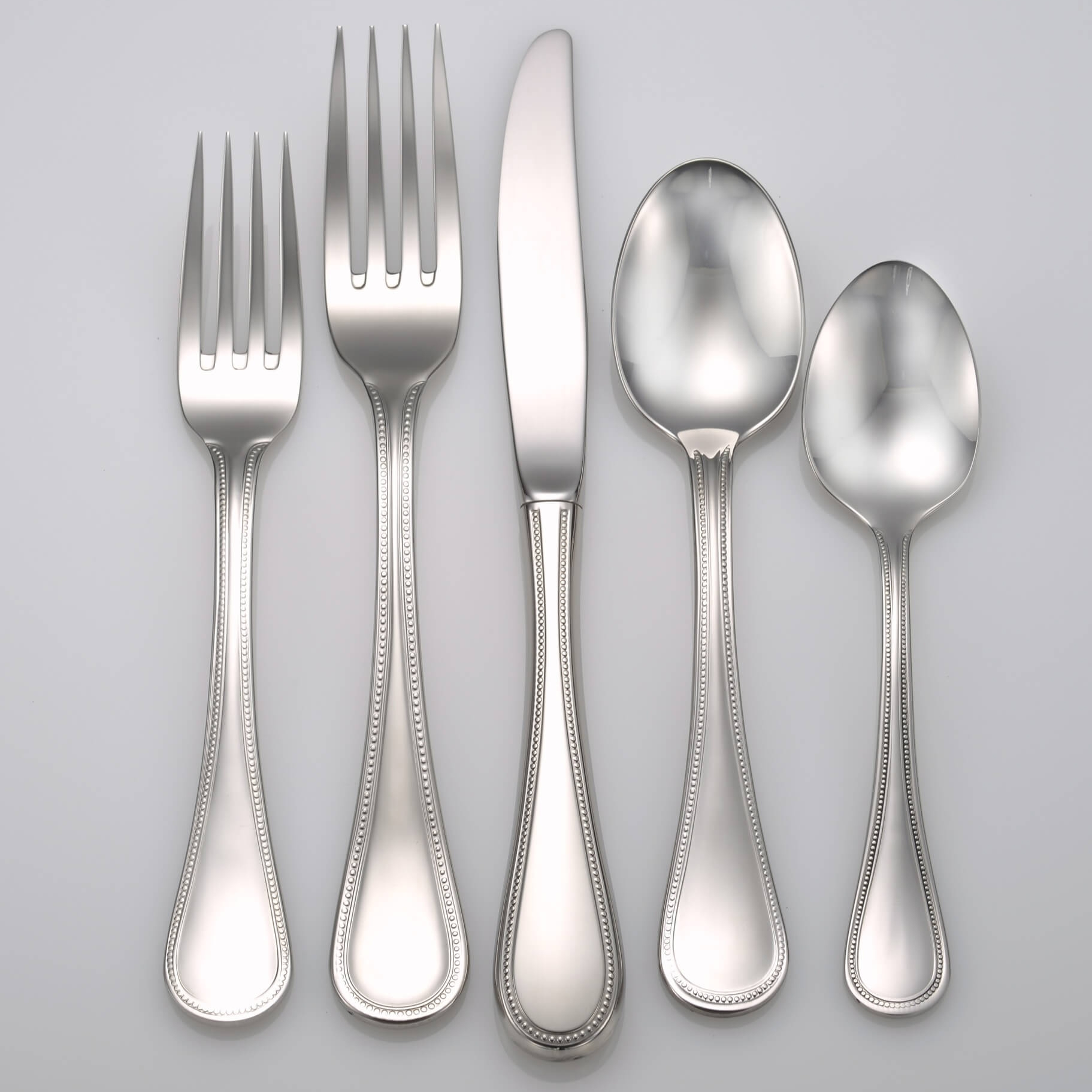 Pearl 18/10 Stainless Steel Flatware Liberty Tabletop