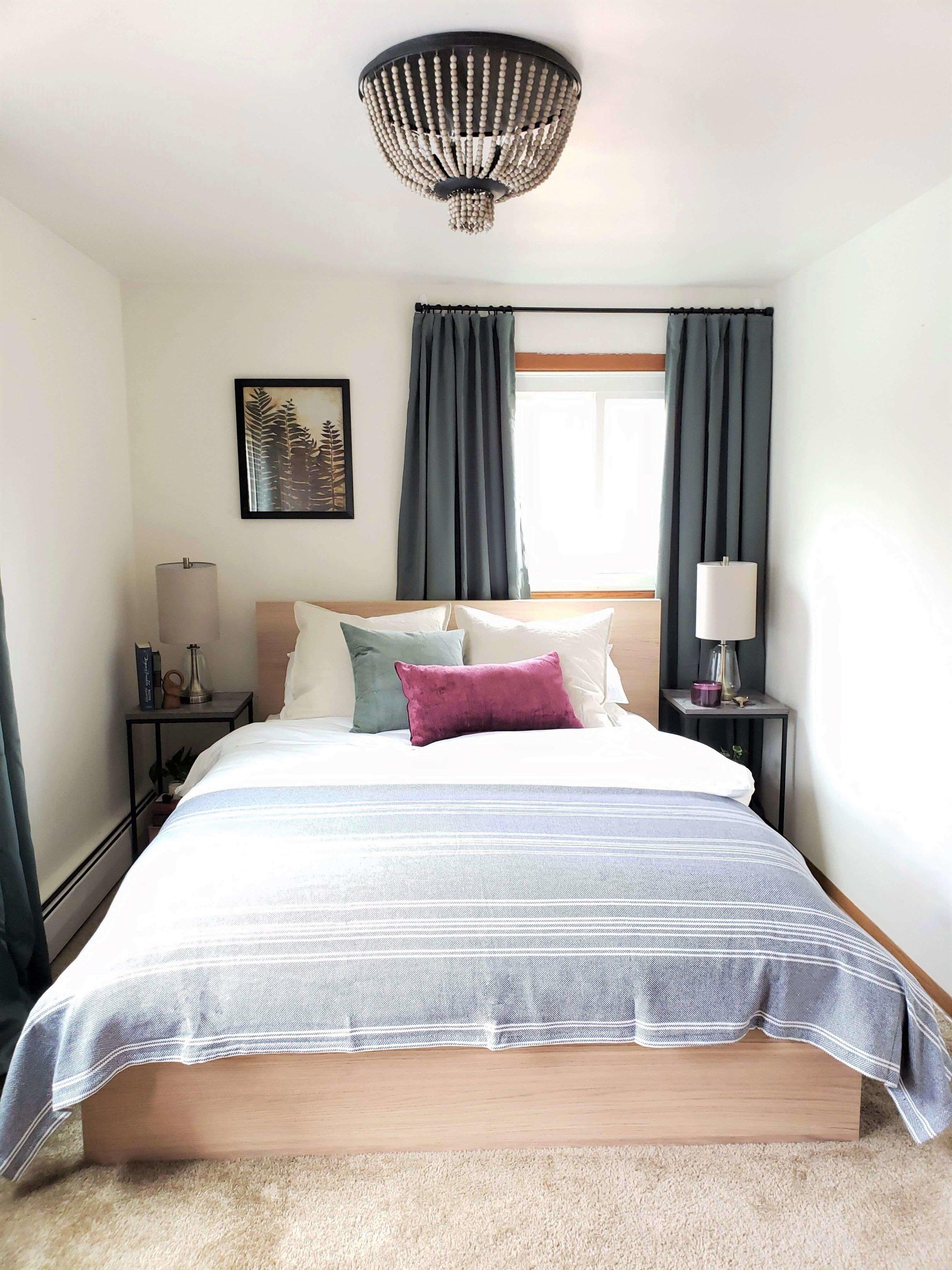 Fall 2018 One Room Challenge Week 6 Boho Bedroom Final Reveal Nicole Janes Design