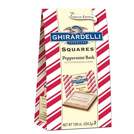 Ghirardelli Limited Edition Peppermint Bark Squares Bag