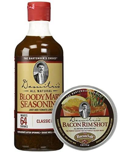 Demitris Bloody Mary Seasoning Mix & Bacon RimShot Spiced Rim Salt