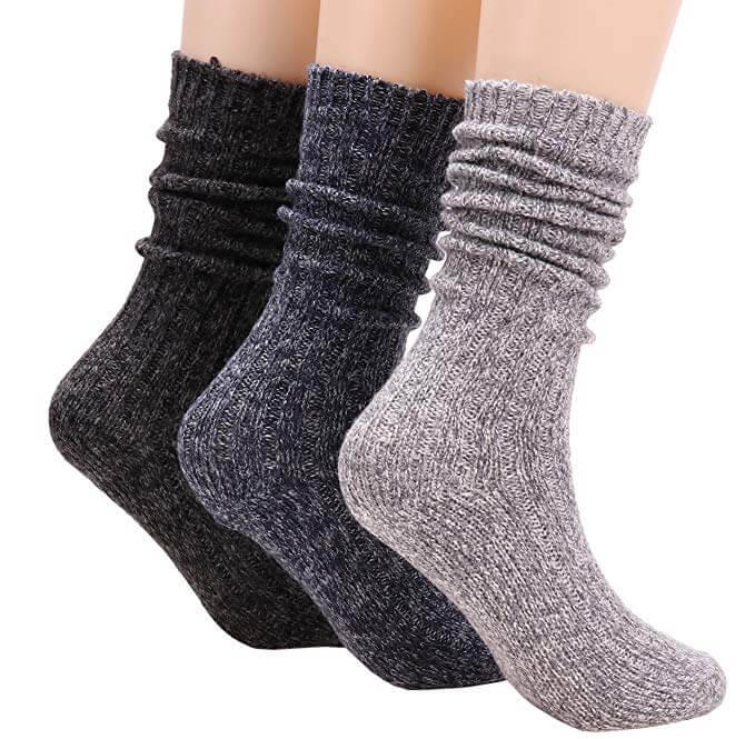 Cotton Knit Cotton Boot Socks