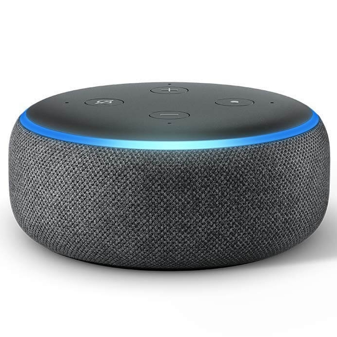 Amazon Echo Dot Smart Speaker with Alexa 3rd Generation
