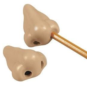 Nose Picker Pencil Sharpener 3 Pack