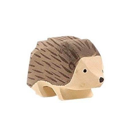 Ostheimer Hedgehog Wooden Animal Figurine