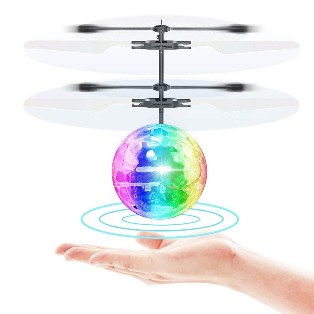 Toyk Flying Ball Infrared Induction RC Flying Toy