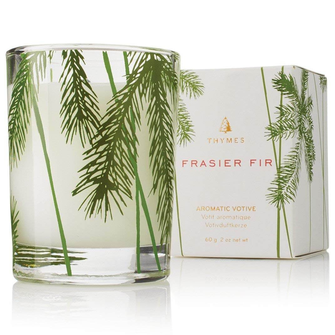 Thymes Frasier Fir Pine Needle Candle in Glass Jar