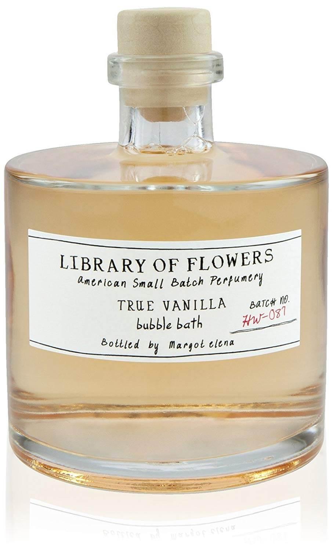 Library of Flowers Bubble Bath-True Vanilla  Stocking Stuffer