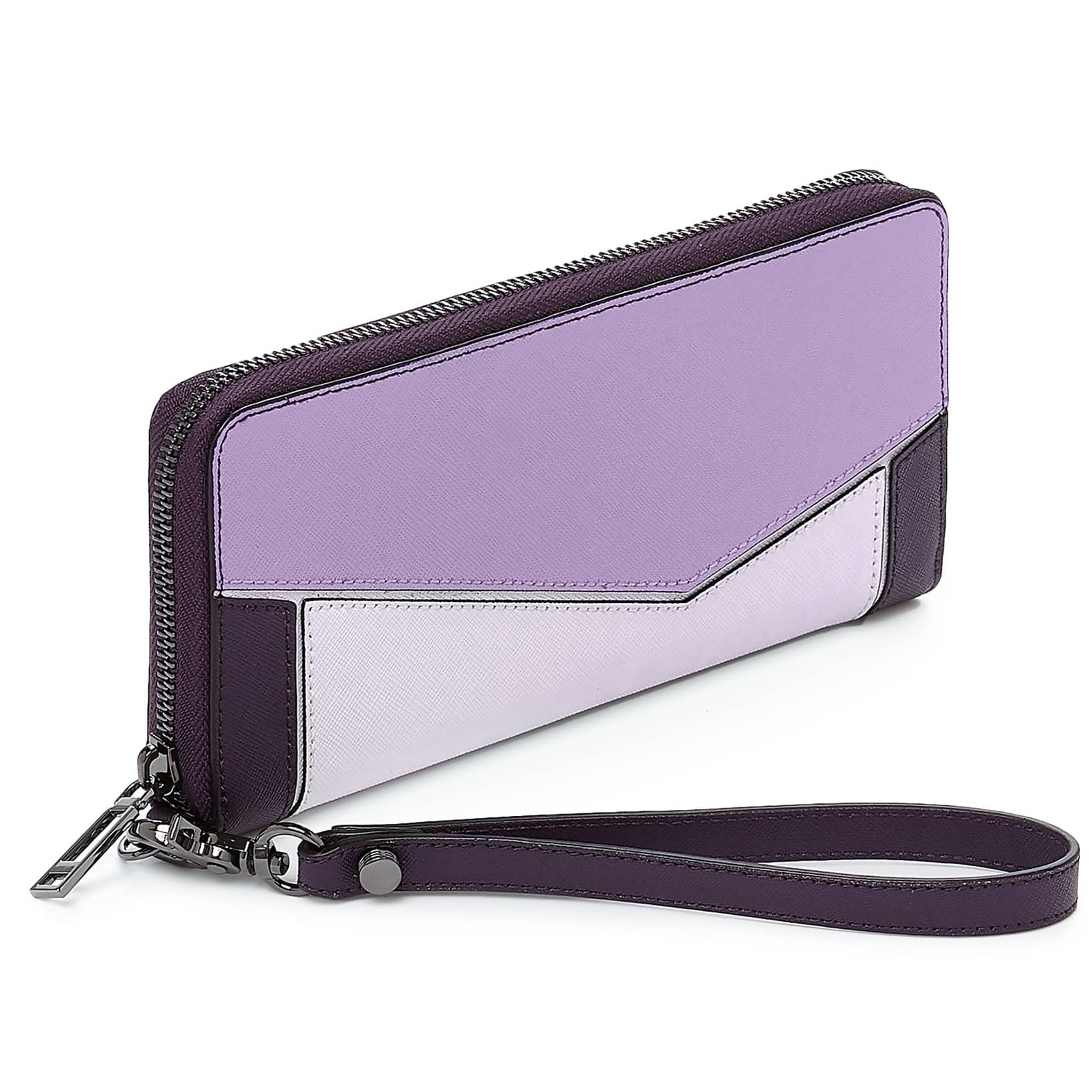 Botkier Cobble Hill Leather Wallet Purple