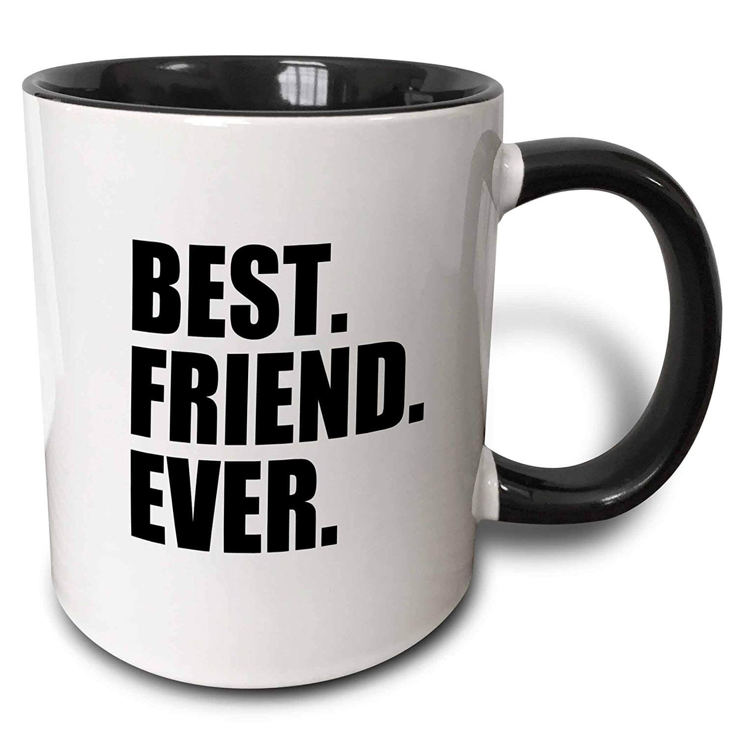 Best Friend Ever Coffee Mug Black & White 11 oz